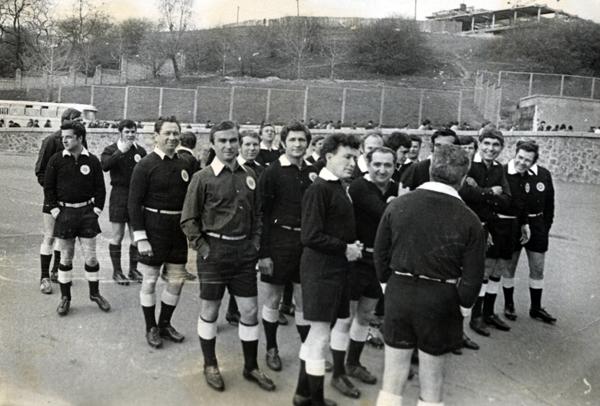 Парад відкриття сезону. Арбітри ФФК 1975