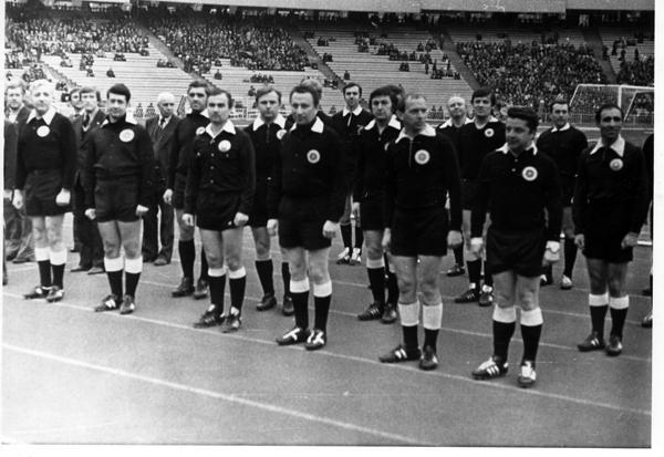 Парад відкриття сезону. Арбітри ФФК 1982