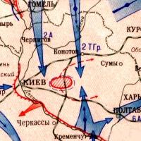 1.Карта обороны Киева