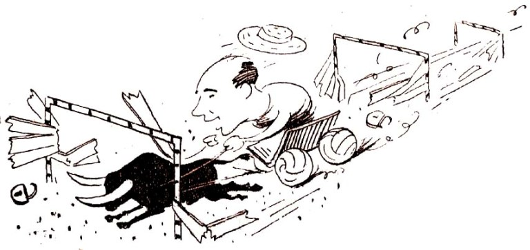 2.Друж.шарж на В.Маслова-1964 Рис.И.Соколова