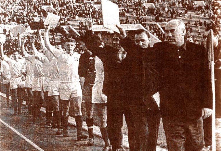 4.ДК-обл.Кубка СССР 1966-круг почета
