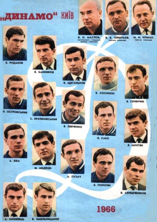 5.ДКиев-чемпион и обл.Кубка СССР 1966