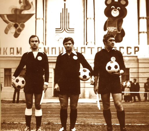 2.1980 Литвиненко и Прийменко в матче