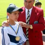 3.Вручение медали